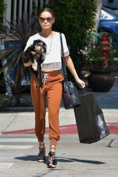 Jamie Chung Style - Out in West Hollywood, March 2015