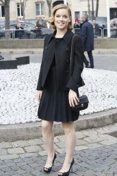 Jane Levy – Miu Miu Fashion Show in Paris, March 2015