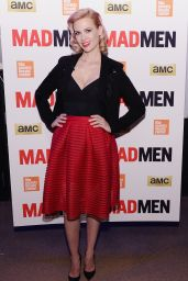 January Jones - Mad Men Special Screening in New York City, March 2015
