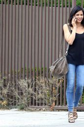 Jenna Dewan Tatum Street Style – Out for Lunch in LA, March 2015