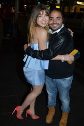 Jennette McCurdy - Arrives at Her Hotel in Sydney, March 2015