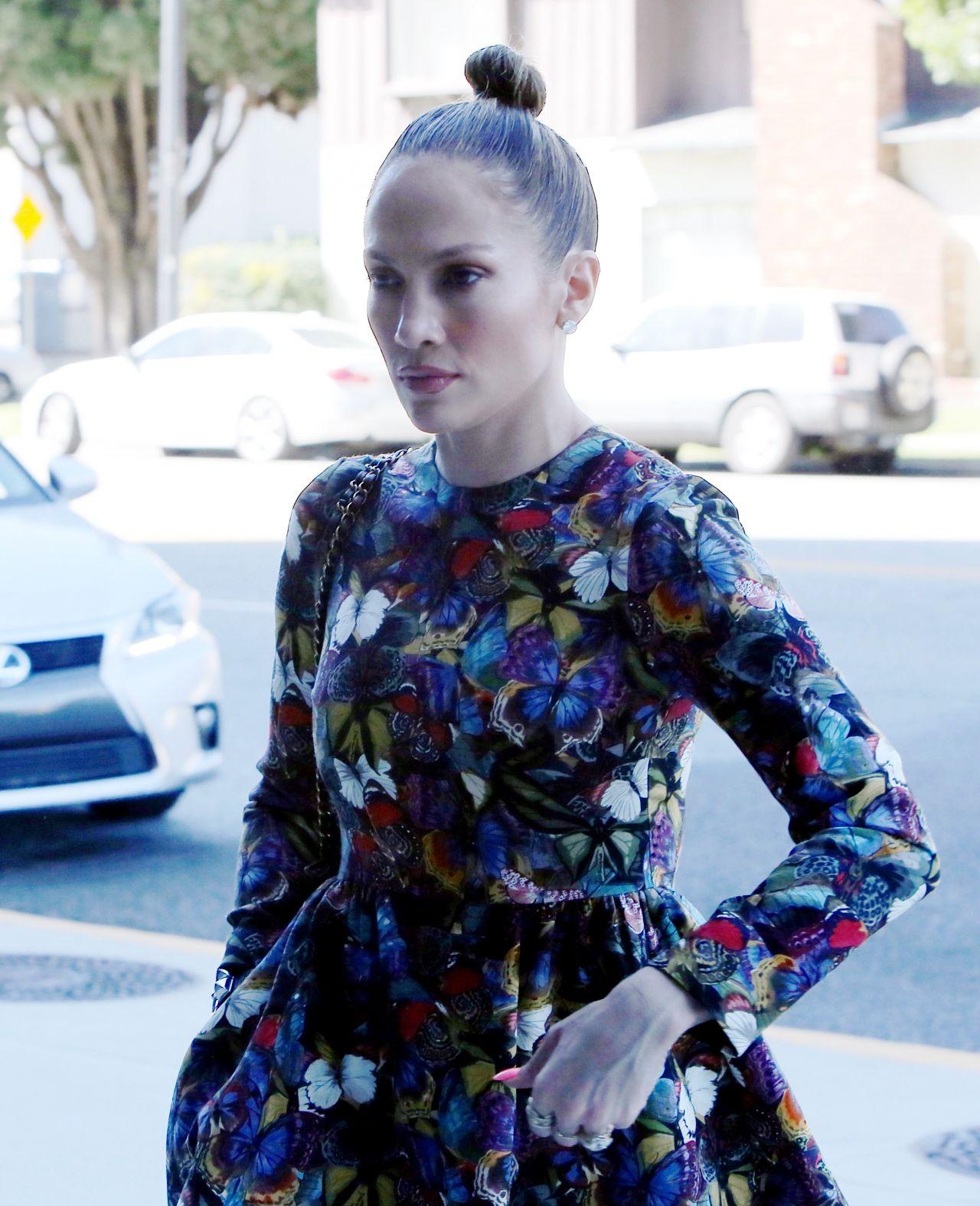 Jennifer Lopez - Out in Burbank, March 2015