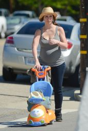 Jennifer Love Hewitt - Out in Los Angeles, March 2015