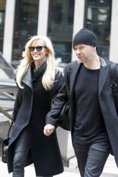 Jenny McCarthy Casual Style - Out in New York City, MArch 2015