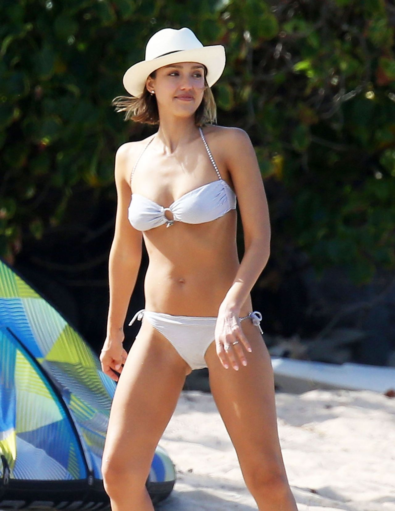 Jessica Alba Strips Down To A Bikini For Maxim Photo