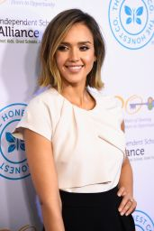Jessica Alba - Independent School Alliance Impact Awards Dinner in Los Angeles