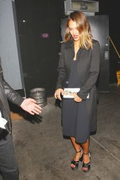 Jessica Alba Night Out Style - Los Angeles, March 2015