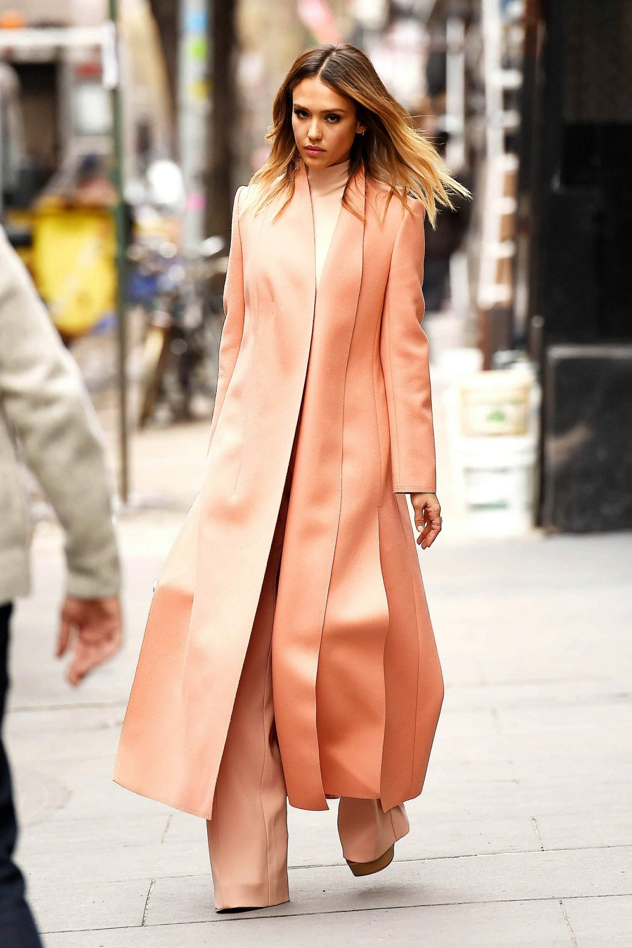 Jessica Alba Style – Out in Manhattan – March 2015