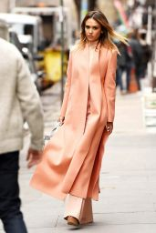 Jessica Alba Style - Out in Manhattan - March 2015