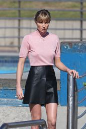 Jessica Hart – Photoshoot at Bondi Beach, March 2015