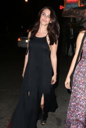 Jessica Lowndes Night Out Style - at the Chateau Marmont in West Hollywood, March 2015