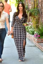 Jessica Lowndes Style - at Cafe Alfred in Los Angeles, March 2015