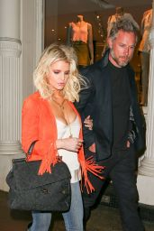 Jessica Simpson - Out in New York City, March 2015