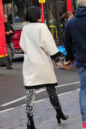 Jessie J - Filming a Music Video in London, March 2015