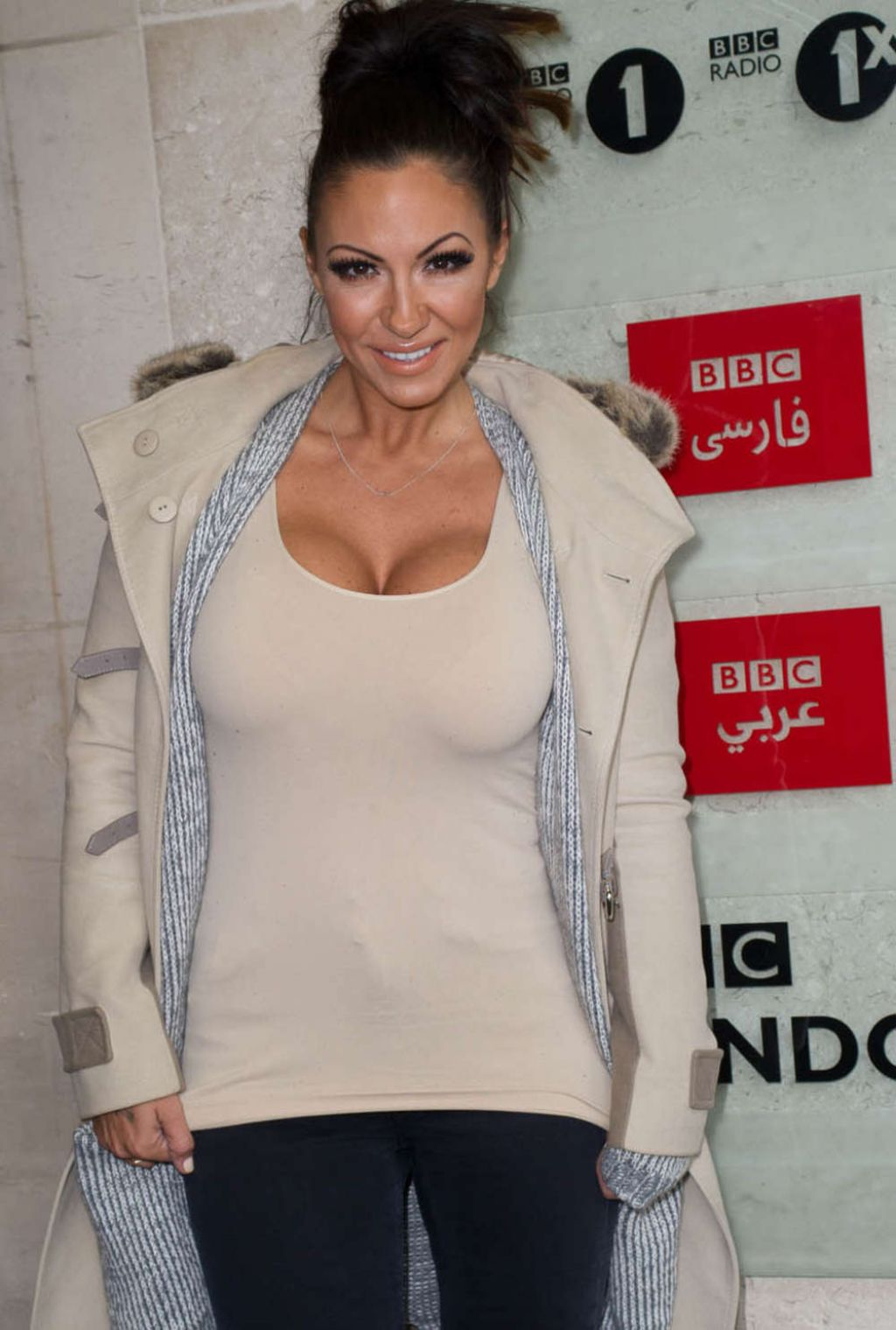 Jodie Marsh Leaving The Bbc Studios In London March 2015