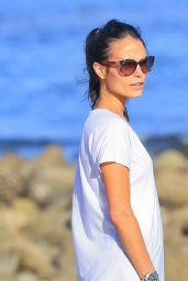 Jordana Brewster at the Beach in Malibu, March 2015