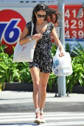 Jordana Brewster Shows Off Her Legs - Shopping in Brentwood, March 2015