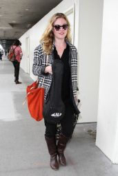 Julia Stiles at LAX Airport, March 2015