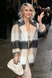 Julianne Hough Appeared on Good Morning America in New York City, March 2015