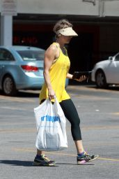 Kaley Cuoco in Spandex - Out in Los Angeles – March 2015
