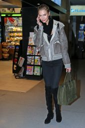 Karlie Kloss at JFK Airport in New York City - March 2015