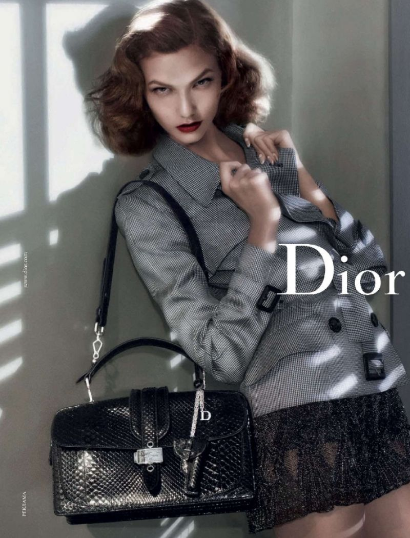 Karlie Kloss - Dior Advert and Photoshoot (2015)