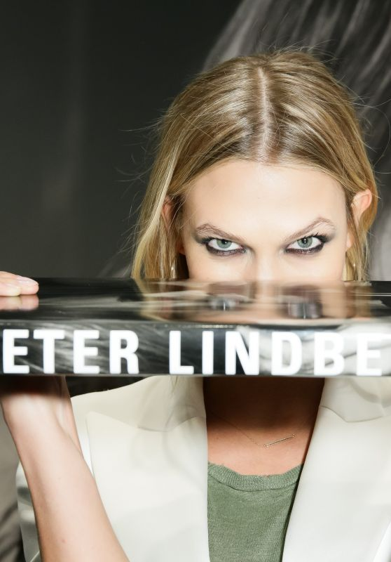 Karlie Kloss - Peter Lindbergh Book Signing in New York City, March 2015