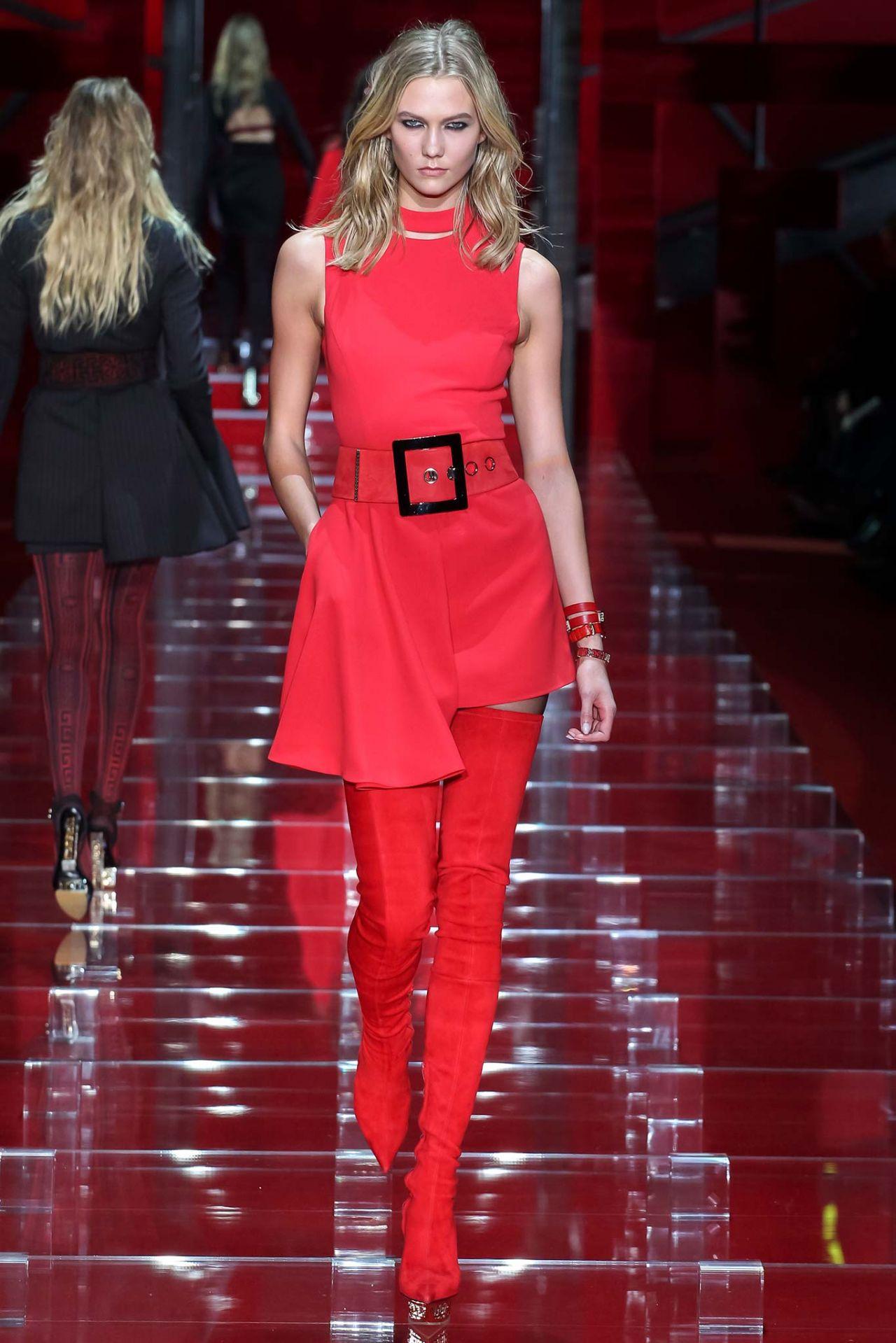 Versace Fashion Show Runaway