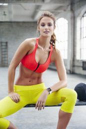 Kate Bock - Fitness Magazine April 2015 Issue