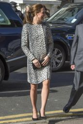 Kate Middleton Style - Visiting the Turner Contemporary Gallery in Margate, March 2015