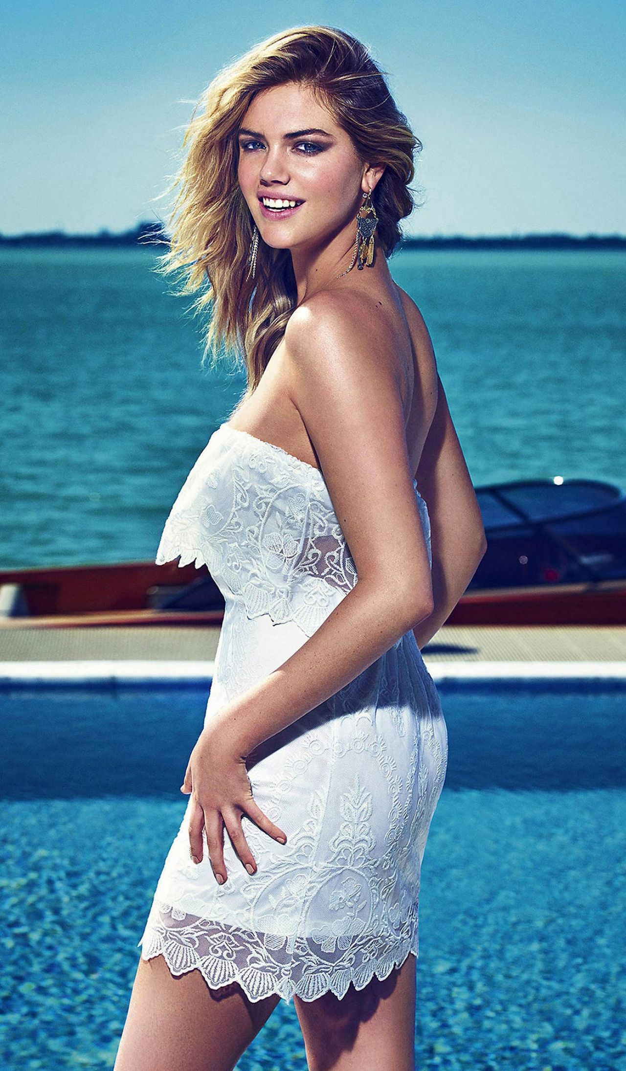Kate Upton Photos Express Spring 2015 Campaign