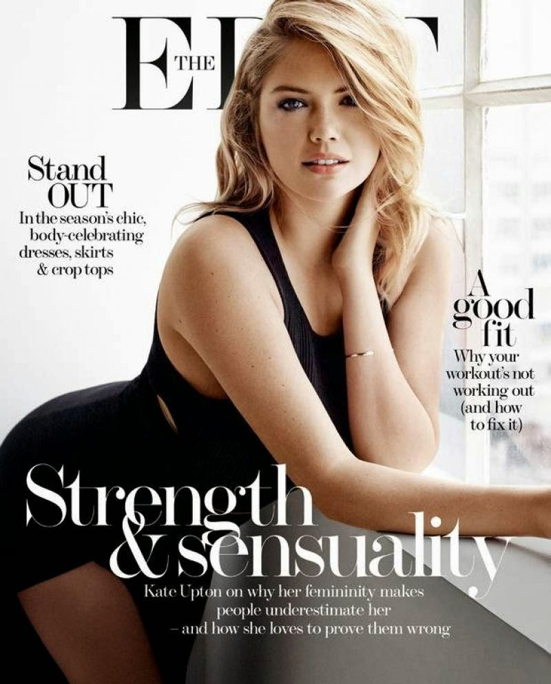 Kate Upton – The Edit Magazine March 2015 Cover and Photos