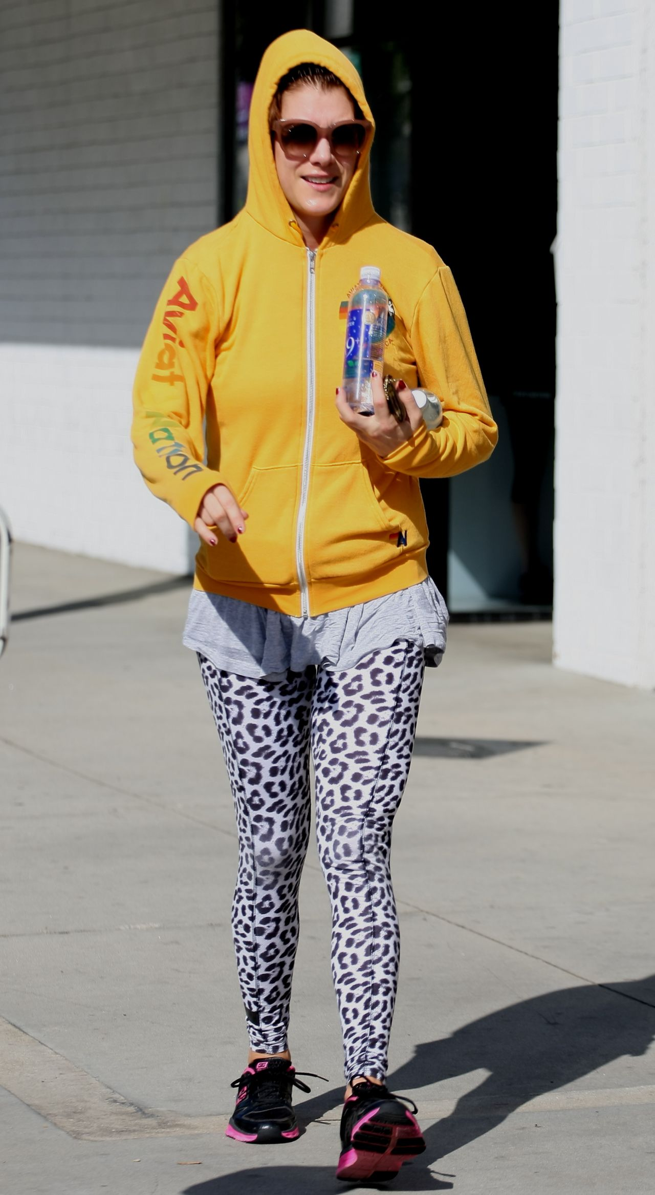 Kate Walsh - Leaving the Gym in Studio City, March 2015