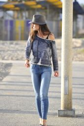Katie Holmes in Tight Jeans - Out in Santa Monica, February 2015