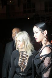 Katy Perry & Kim Kardashian - Givenchy Fashion Show in Paris, March 2015