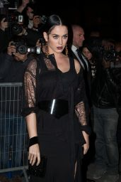 Katy Perry Night Out Style - Out for Dinner in Paris, March 2015