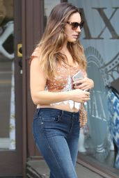 Kelly Brook Booty in Jeans - Out in West Hollywood - March 2015
