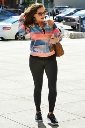 Kelly Brook Booty in Tights - Out in Los Angeles, March 2015