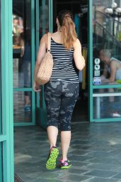 Kelly Brook in Leggings - Out in Los Angeles, March 2015