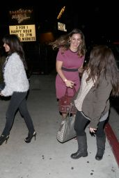Kelly Brook Night Out Style - at Improv in West Hollywood, March 2015