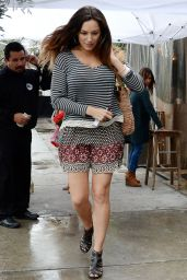 Kelly Brook Street Fashion - Out in West Hollywood, March 2015