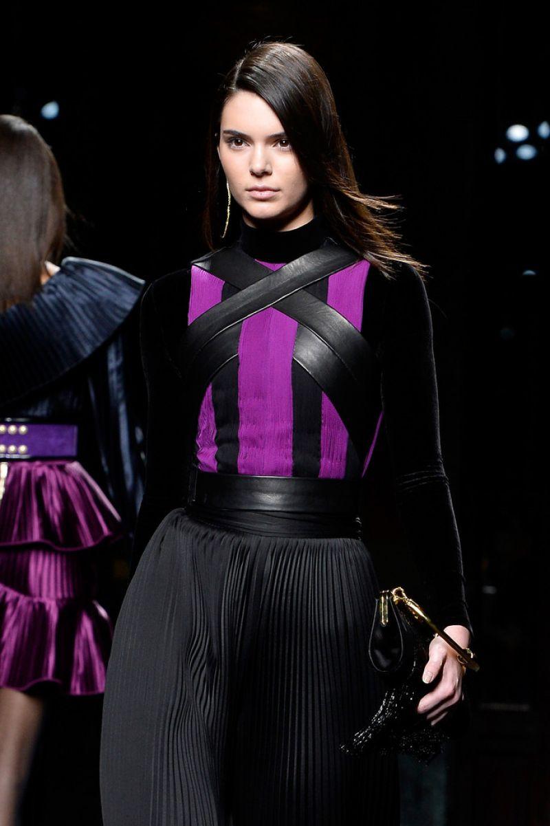 Kendall Jenner - Balmain Runway Show in Paris, March 2015