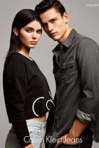 Kendall Jenner - Calvin Klein Jeans (2015)