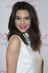 Kendall Jenner Fashion - Courreges and Estee Lauder Dinner Party in Paris, March 2015