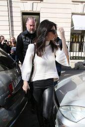 Kendall Jenner - Leaving the Celine