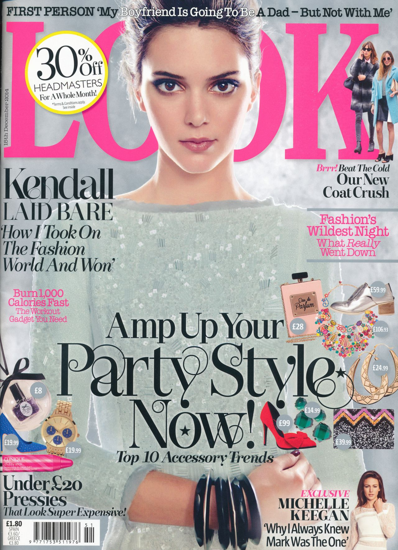 Kendall Jenner - Look Magazine December 15th 2014 Issue