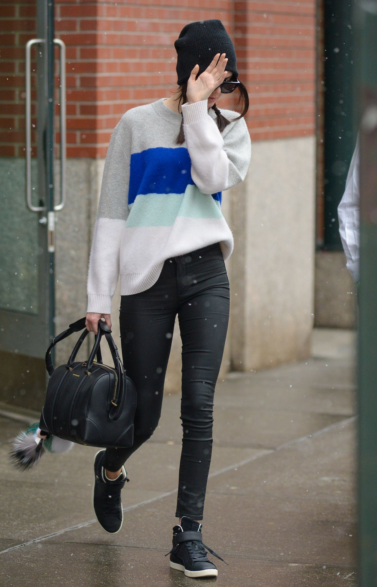 Kendall Jenner Street Style Out In Nyc March 2015