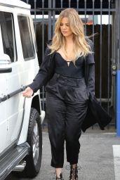 Khloe Kardashian - Filming in Los Angeles, March 2015