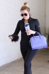 Khloe Kardashian Going to a Gym in Beverly Hills - March 2015
