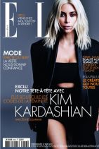 Kim Kardashian - ELLE Magazine (France) March 2015 Issue